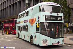 Wrightbus NRM NBFL - LTZ 1321 - LT321 - Chambord - King's Cross 59 - Arriva London - London 2017 - Steven Gray - IMG_0046
