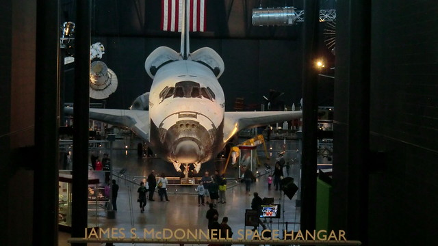 NASA Space Shuttle DISCOVERY @ Udvar-Hazy Center of NASM at Washington Dulles Airport, Chantilly (VA)