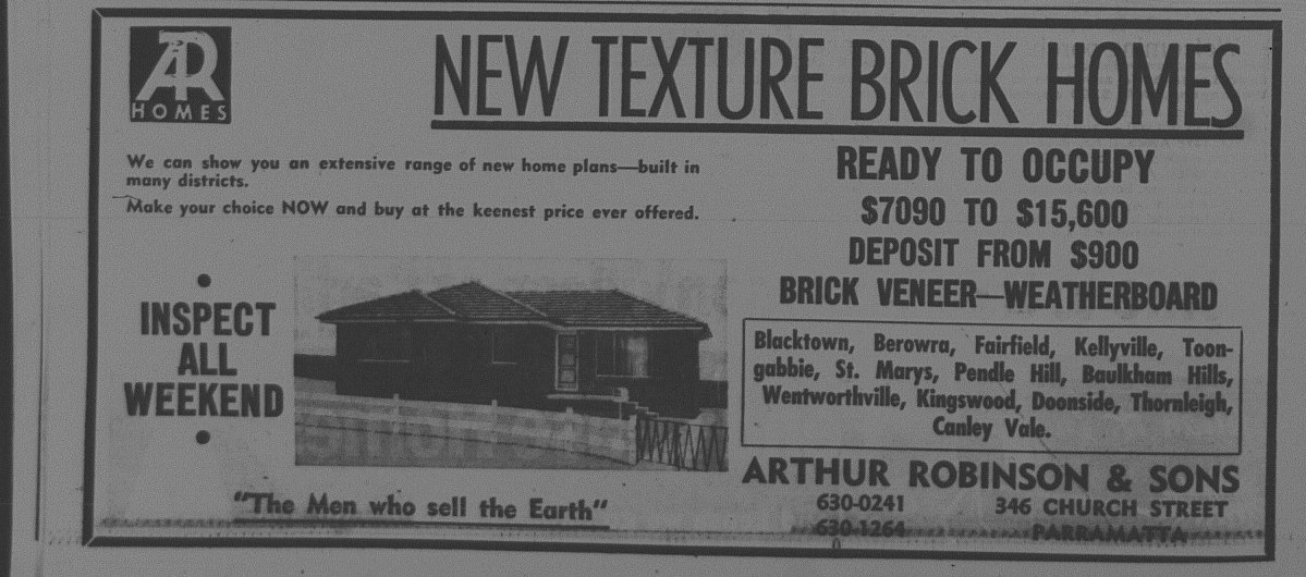 AR Homes ad June 22 1968 daily telegraph 42