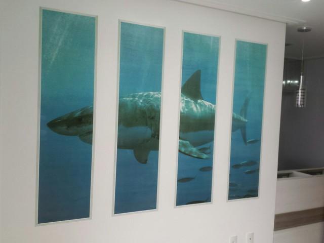 Decoração tubarão