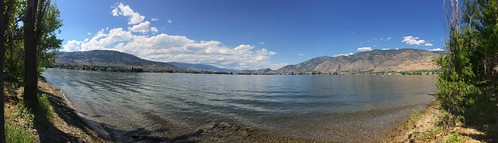 Haynes point Osoyoos Lake panorama