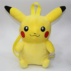 Pikachu Full Body Soft 3D Backpack