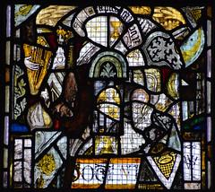 fragments: angels, harp, chalice, etc