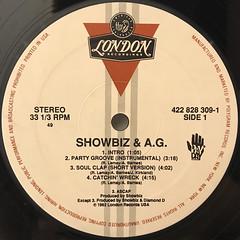 SHOWBIZ & A.G.:PARTY GROOVE(LABEL SIDE-A)
