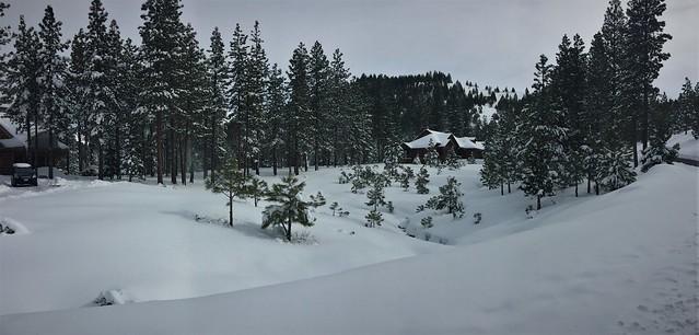 Snow in the Sierras Last Winter