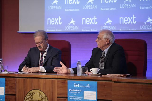 V Foro Next IBS con Josep Borrell