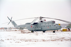 74 Red Mil Mi-6 Russian Air Force