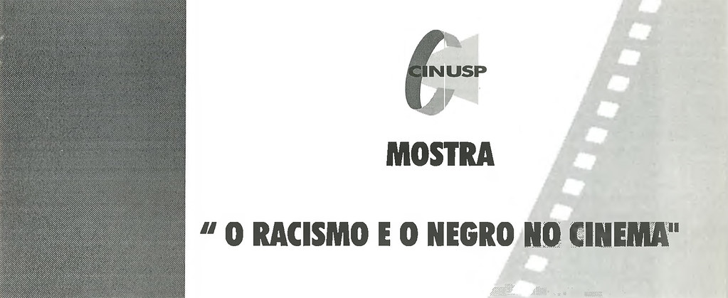 O Racismo e o Negro no Cinema