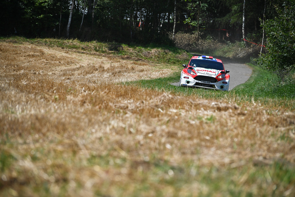 04 BOUFFIER Bryan (FRA)  DINI Gilbert (FRA) Ford Fiesta R5 action during the 2017 European Rally Championship Rally Rzeszowski in Poland from August 4 to 6 - Photo Wilfried Marcon / DPPI