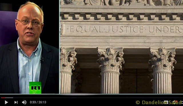 Chris Hedges: The Collapse of the American Judicial System