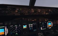 In Flight - B737-8