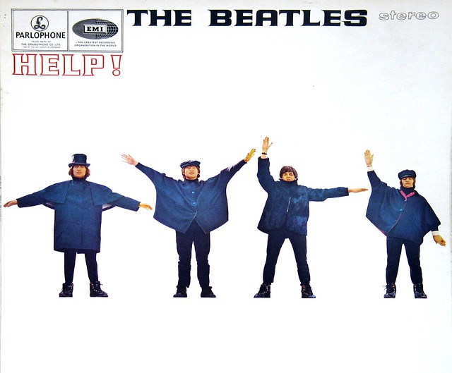 "Beatles Help! UK PARLOPHONE PCS 3071 12"" Vinyl LP"