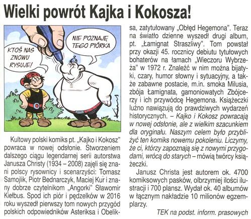 Kajko i Kokosz Lamignat Straszliwy 07