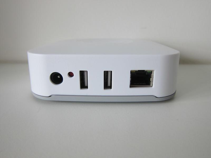 SmartThings V2 Hub (UK) - Back (Ports)