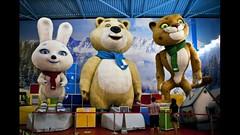 Талисманы Олимпийских игр 2014 года установят в аэропорту Сочи