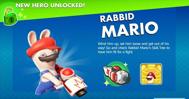 Mario + Rabbids Kingdom Battle - Lapin Mario
