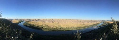 Drumheller dino trail view