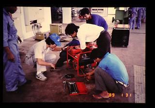 Fabrication Training In Cdaet Workshop = CAET試作工場での実習