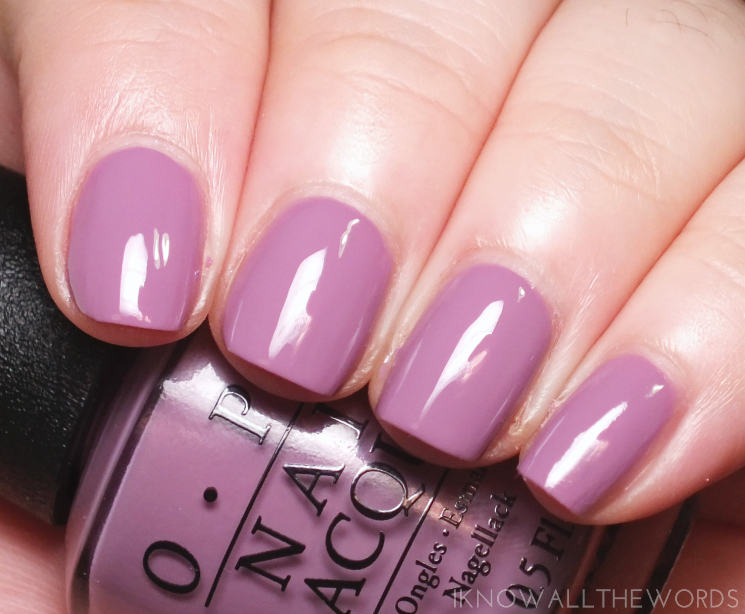 OPI Iceland Collection one heckla of a colour