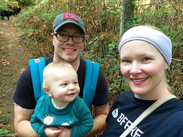 Family nature hike!