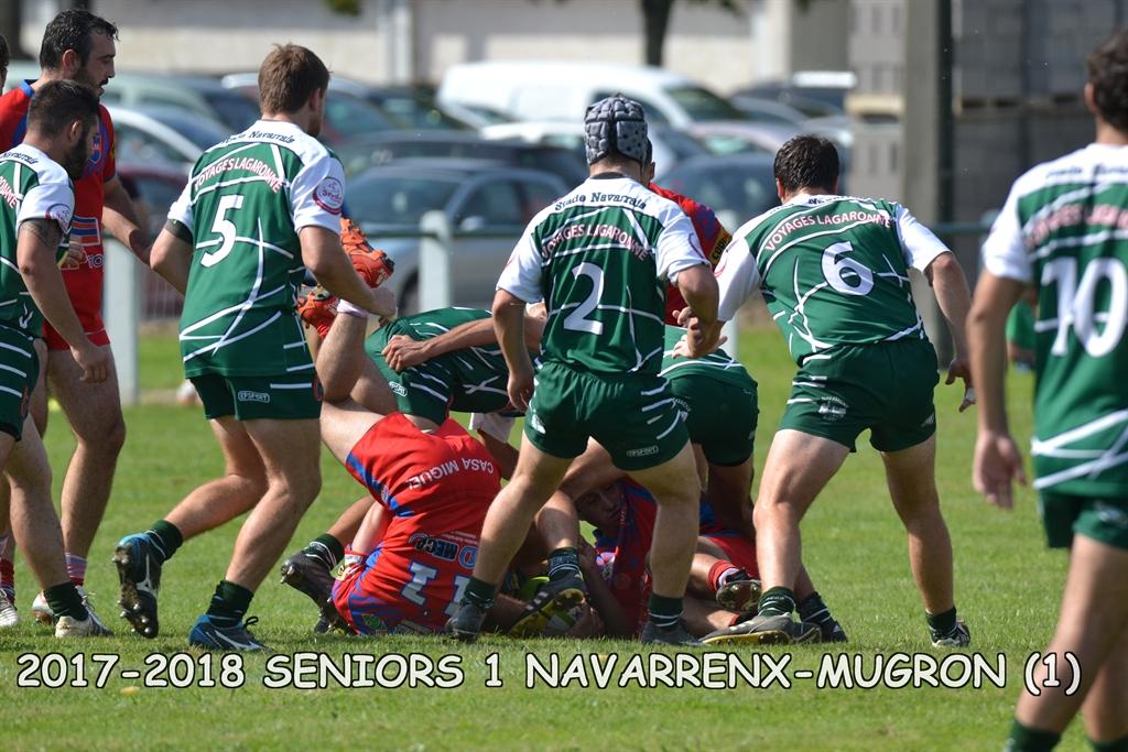 2017-2018 SENIORS 1 NAVARRENX - MUGRON