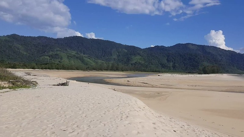 Tizit Beach sur la péninsule de Dawei