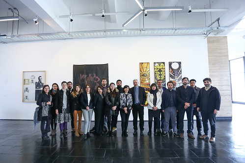 Presidenta Bachelet visita el Centro Nacional de Arte Contemporáneo Cerrillos
