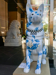 "K9s for Cops Public Art Campaign - ""Penny"" by Brandin Hurley"