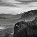 Views of the Columbia River at Chanticleer Point (Black & White) by thor_mark 