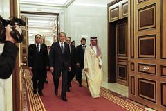 С.Лавров и Салман ибн Абдул-Азиз Аль Сауд   Sergey Lavrov & Salman ibn Abd al-Aziz