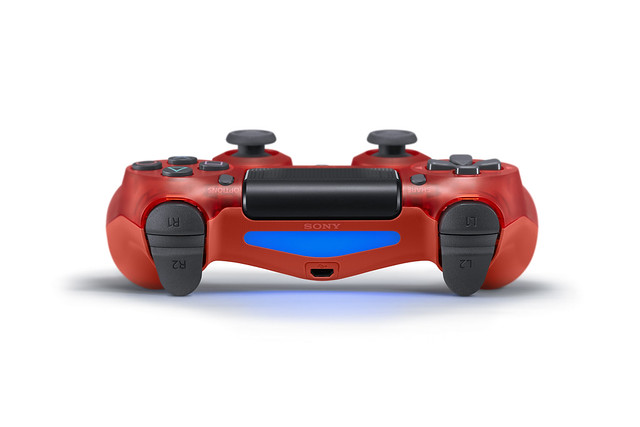 Red Crystal DualShock 4