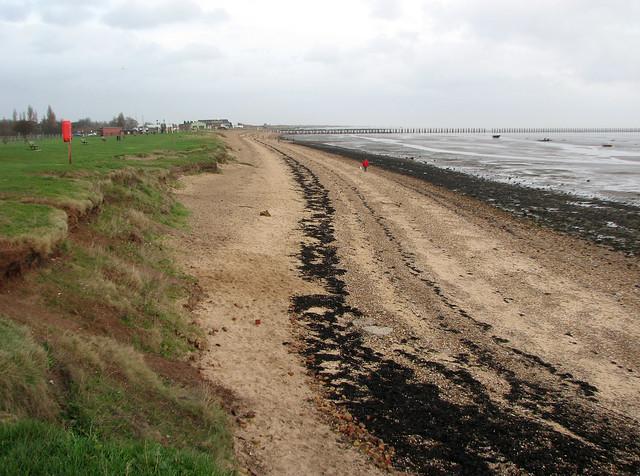 The beach at Shoeburyness
