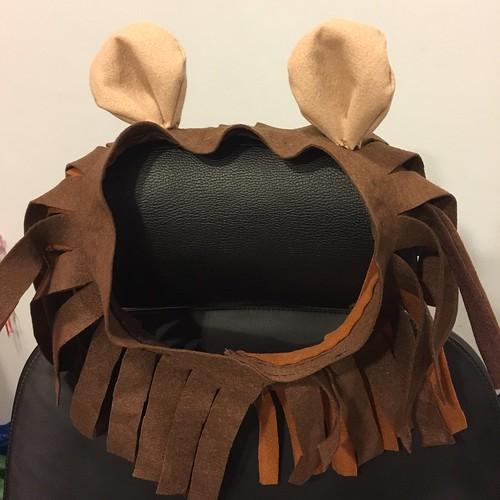 Lion costume - mane