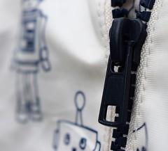 Robot Coat Zip