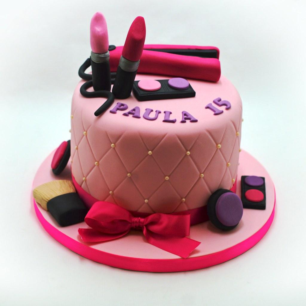 Makeup Birthday Cake Patricia Creative Cakes