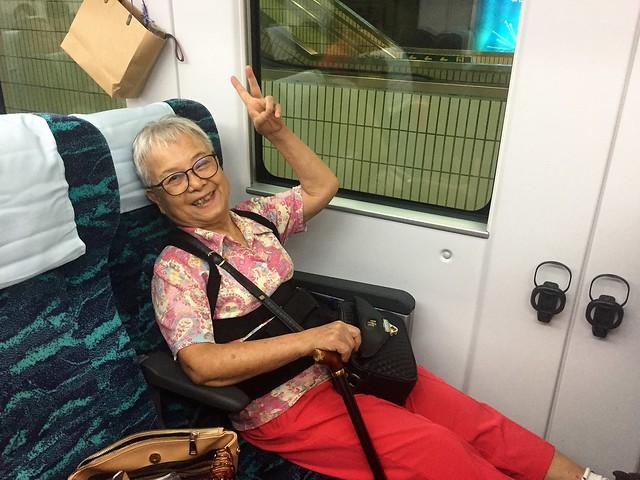搭乘普悠瑪火車 (4)