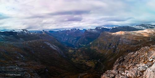 dalsnibba geiranger mountain mountains møreogromsdal norway scenery stranda sunnmøre landscape nature