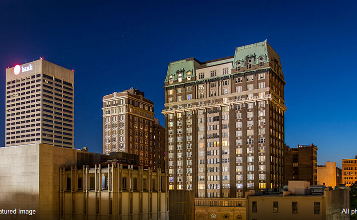 The Exchange Suites (Memphis, USA)の外観