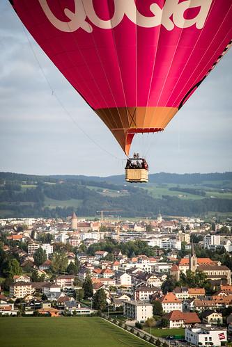 61st Coupe Aéronautique Gordon Bennett - Hot air balloons
