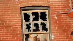 Kiln building shattered glass, Don Valley Brick Works, c1920, Toronto