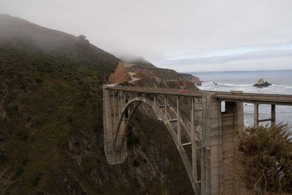 Bixby Creek Bridge | Pacific Coast Highway Road Trip