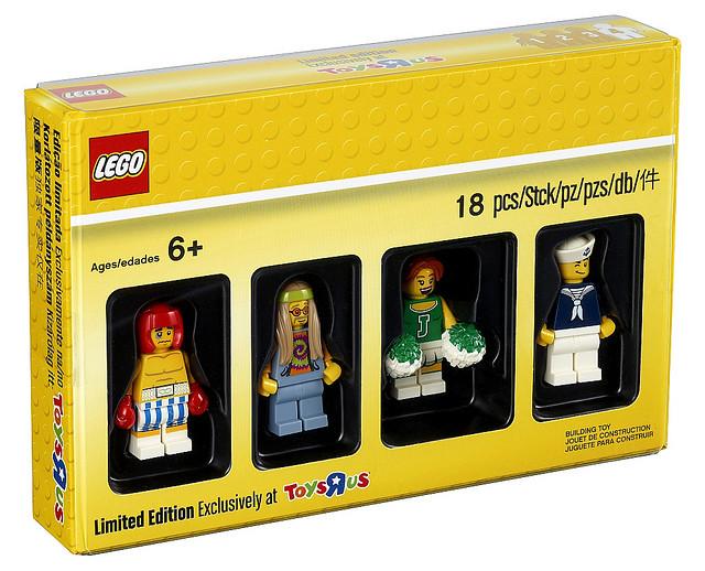 玩具反斗城四款獨家人偶組全公開!!LEGO 5004939、5004940、5004941、5004942【積木十月限定人偶套組】Bricktober 2017 Minifigures Sets