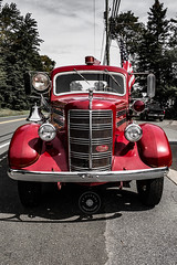 North Madison Antique Fire Engine