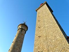 le phare et la tour du pilier