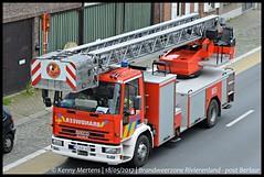 Brandweerzone Rivierenland - post Berlaar - Ladderwagen