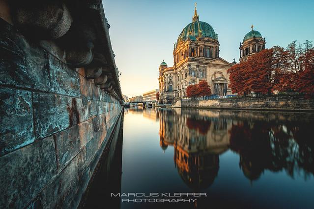 Berliner Dom am Morgen