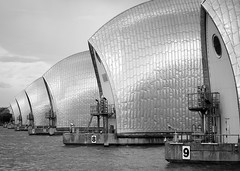 Thames Barrier, September 2017