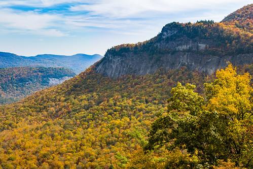 cashiers northcarolina mountain vista autumn colors vibrance