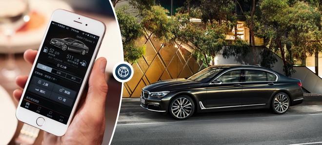 透過BMW Connected APP智能遠端遙控能輕鬆操控車輛