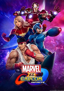 Marvel vs Capcom Infinite Key Art